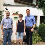 Tobias Hans zu Besuch auf dem Martinshof in St. Wendel-Osterbrücken. Dieser Biobetrieb der 1. Stunde ist ein Paradebeispiel für okölogische Landwirtschaft und Nachhaltigkeit und beliefert inzwischen die ganze Großregion mit seinen Produkten