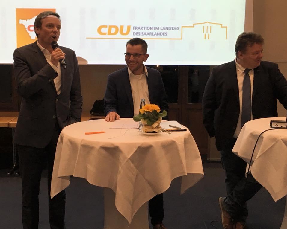 CDU Fraktion des Saarlandes: Betriebs- und Personalräte-Empfang