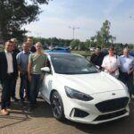 Arbeitnehmergruppe besucht Ford-Werke