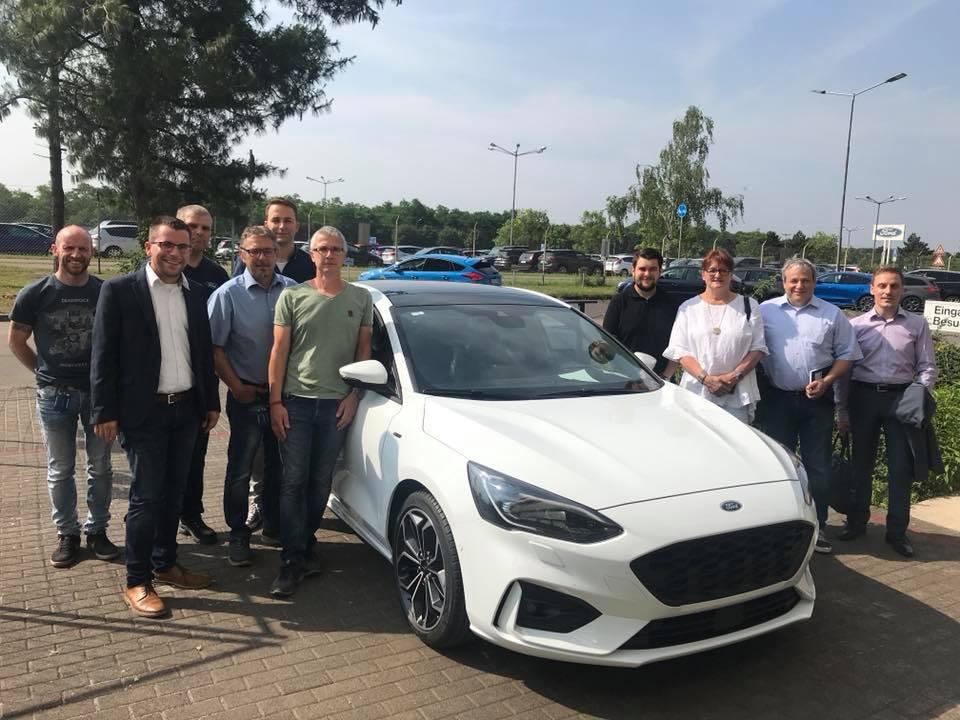 CDU Fraktion des Saarlandes: Arbeitnehmergruppe besucht Ford-Werke