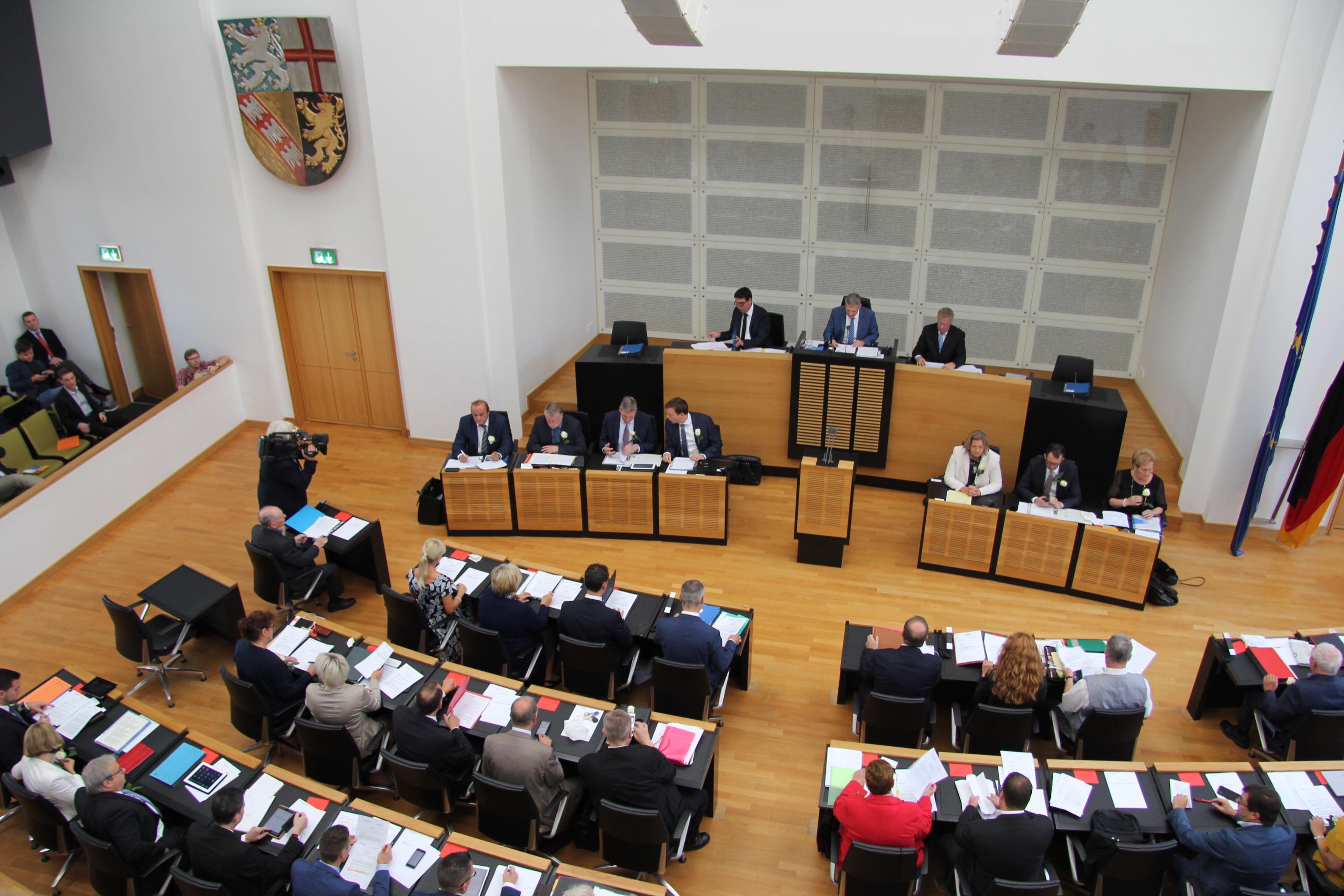 CDU Fraktion des Saarlandes: Weiße Rose, Erfüllungsübernahme, Digitalisierung, Demenz – 18. Landtagssitzung