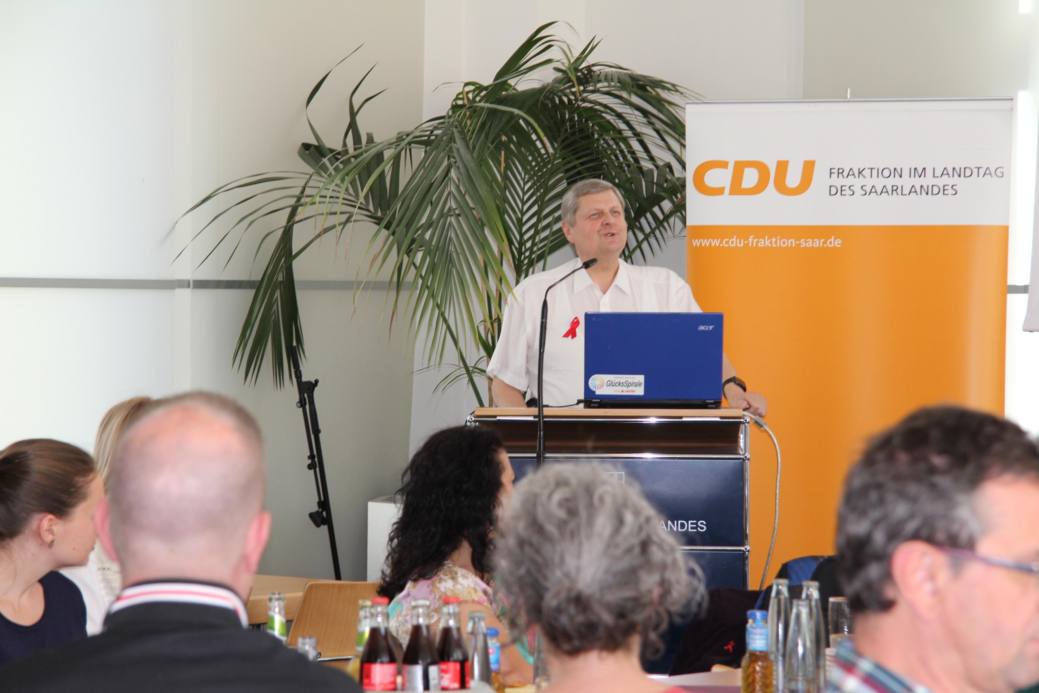 CDU Fraktion des Saarlandes: Aufklärung statt Ausgrenzung – offener Dialog über HIV und AIDS