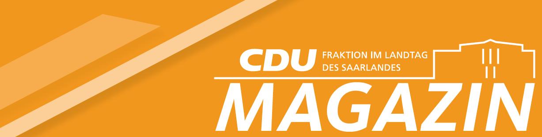Zweite Auflage des CDU-Magazins - Jetzt lesen!